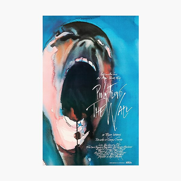 1982 PINK FLOYD - THE WALL - MOVIE POSTER Photographic Print