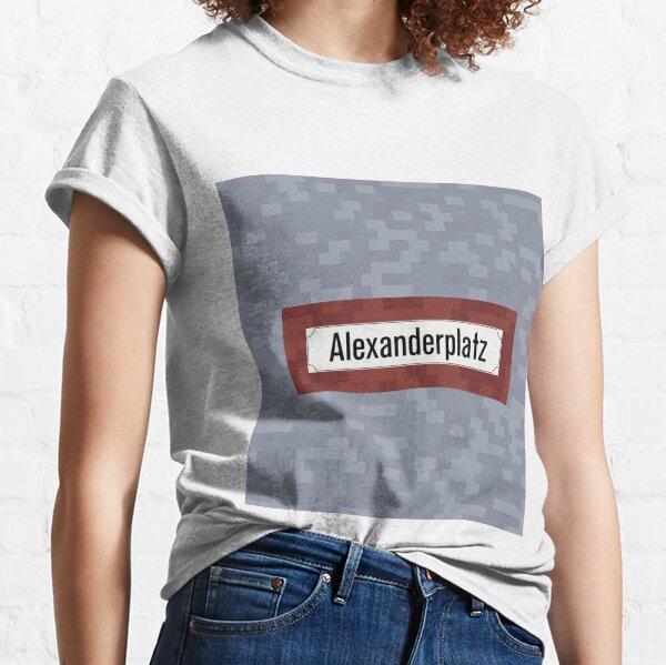 Alexanderplatz Station Tiles (Berlin U2) Classic T-Shirt