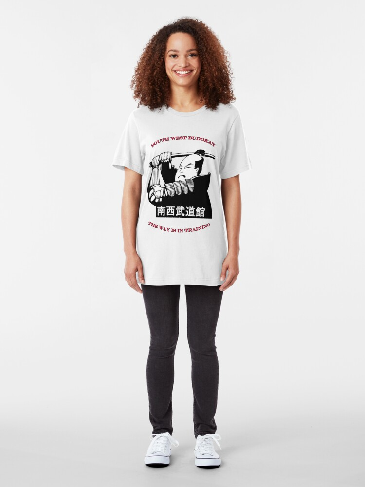 Alternate view of South West Budokan Tee Slim Fit T-Shirt