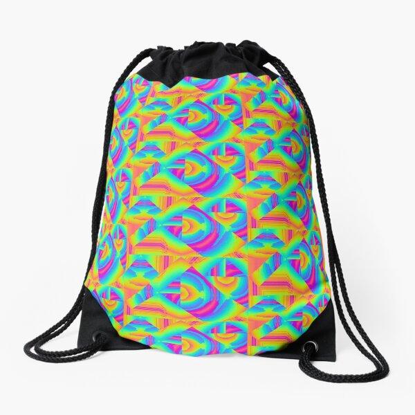 Psychedelic 70's Drawstring Bag