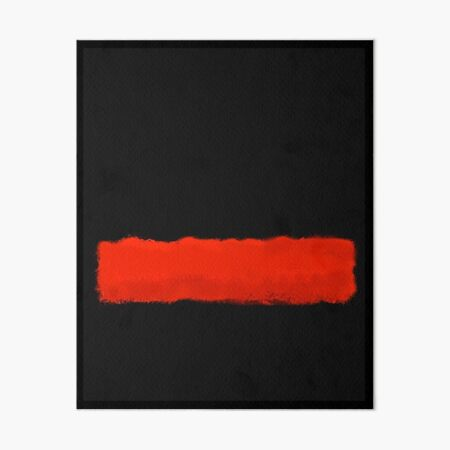 Mark Rothko arte digitalmente 5 Lámina rígida