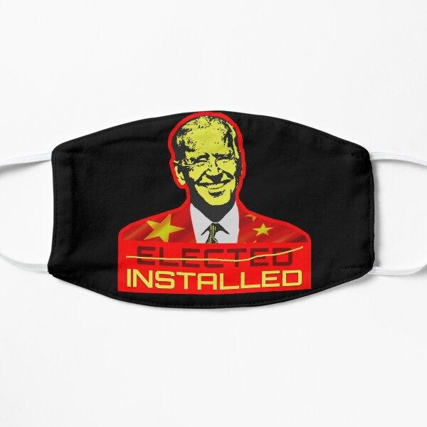 Installed NOT Elected President - China Joe Biden Mask