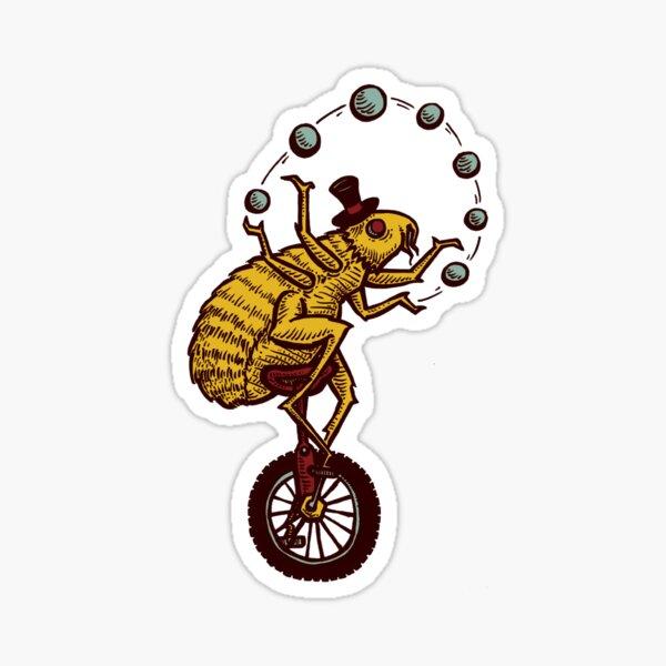 Flea Circus Sticker
