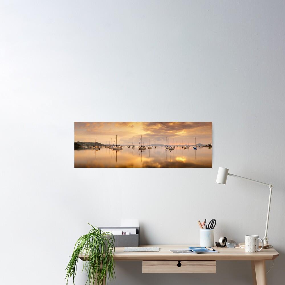 Koolewong Boats, New South Wales, Australia Poster