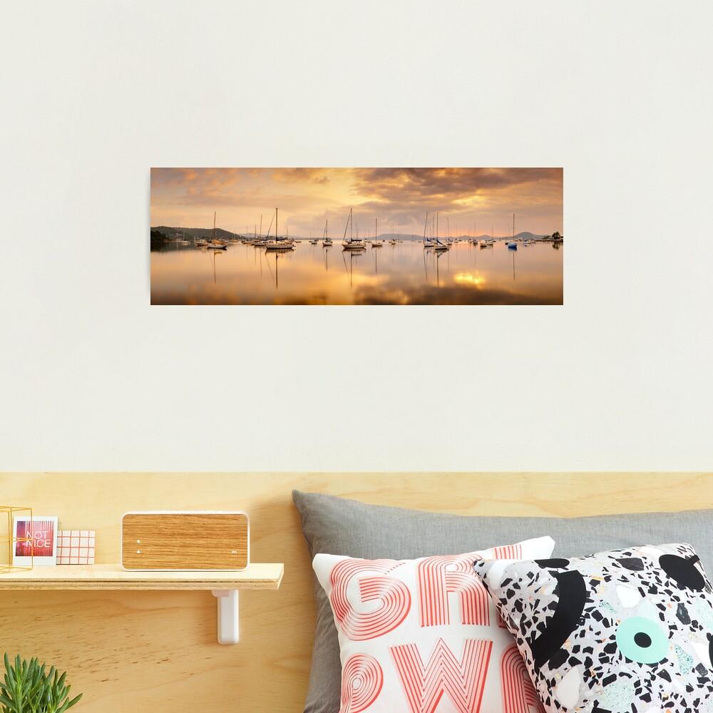 Koolewong Boats, New South Wales, Australia Photographic Print