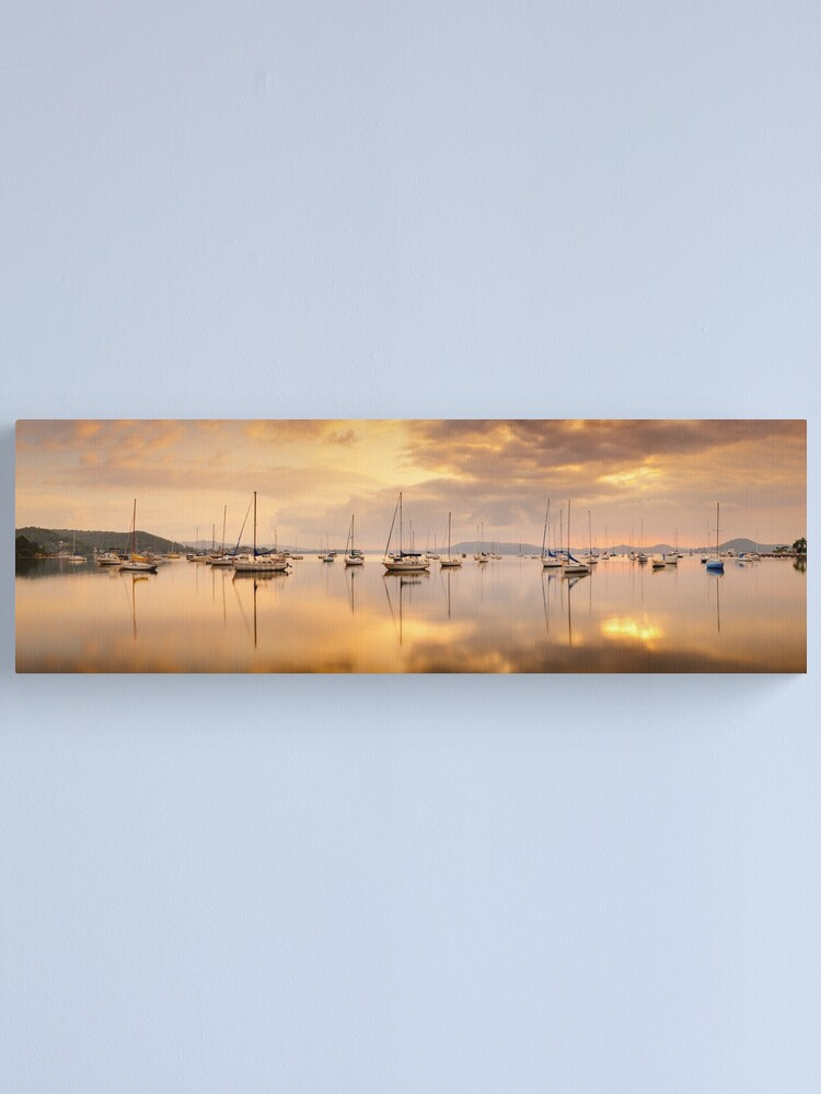Alternate view of Koolewong Boats, New South Wales, Australia Canvas Print