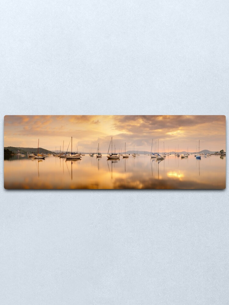 Alternate view of Koolewong Boats, New South Wales, Australia Metal Print
