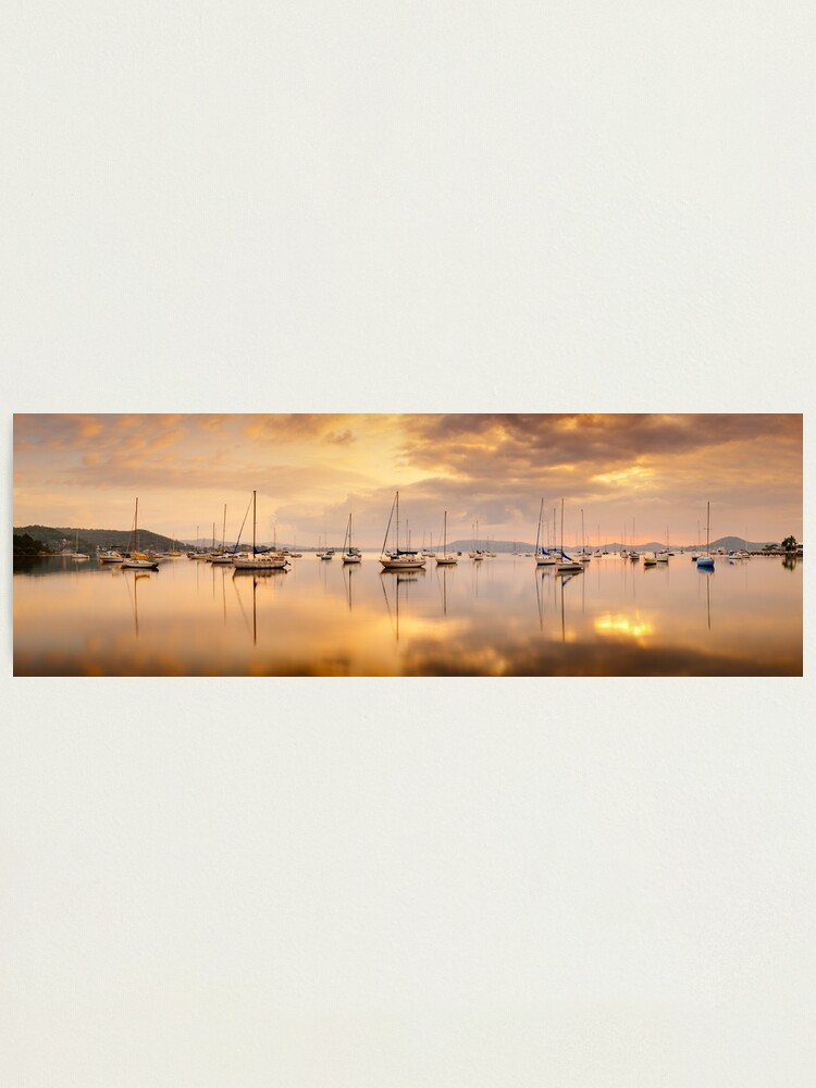 Alternate view of Koolewong Boats, New South Wales, Australia Photographic Print
