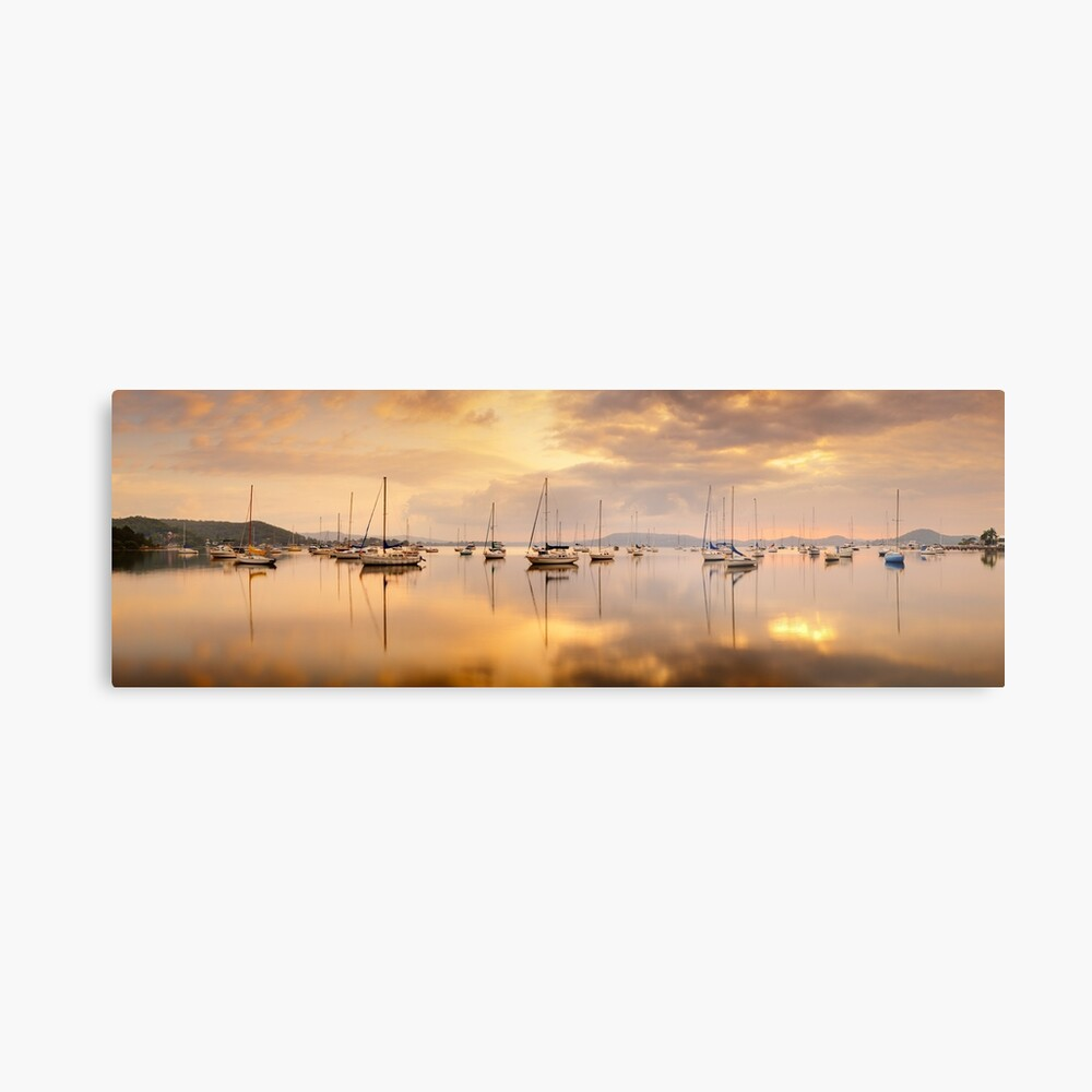 Koolewong Boats, New South Wales, Australia Metal Print