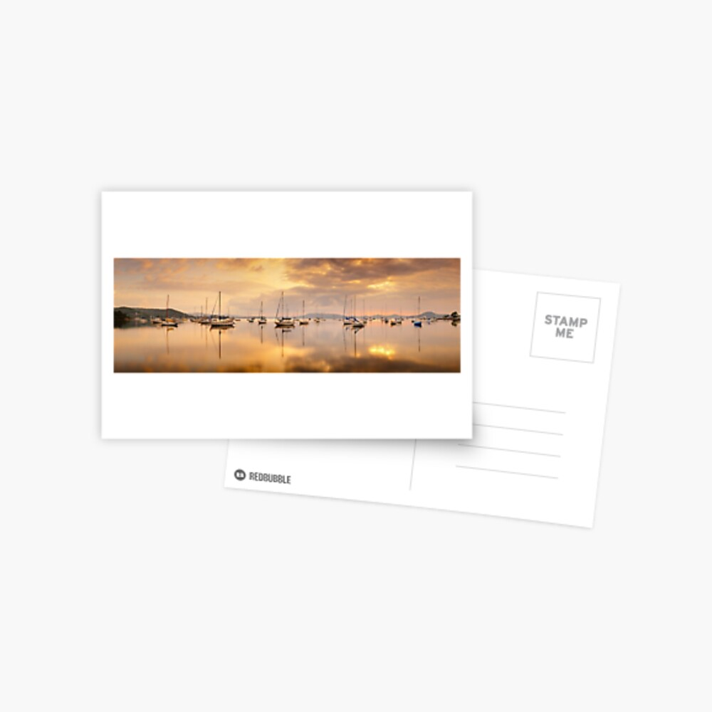 Koolewong Boats, New South Wales, Australia Postcard