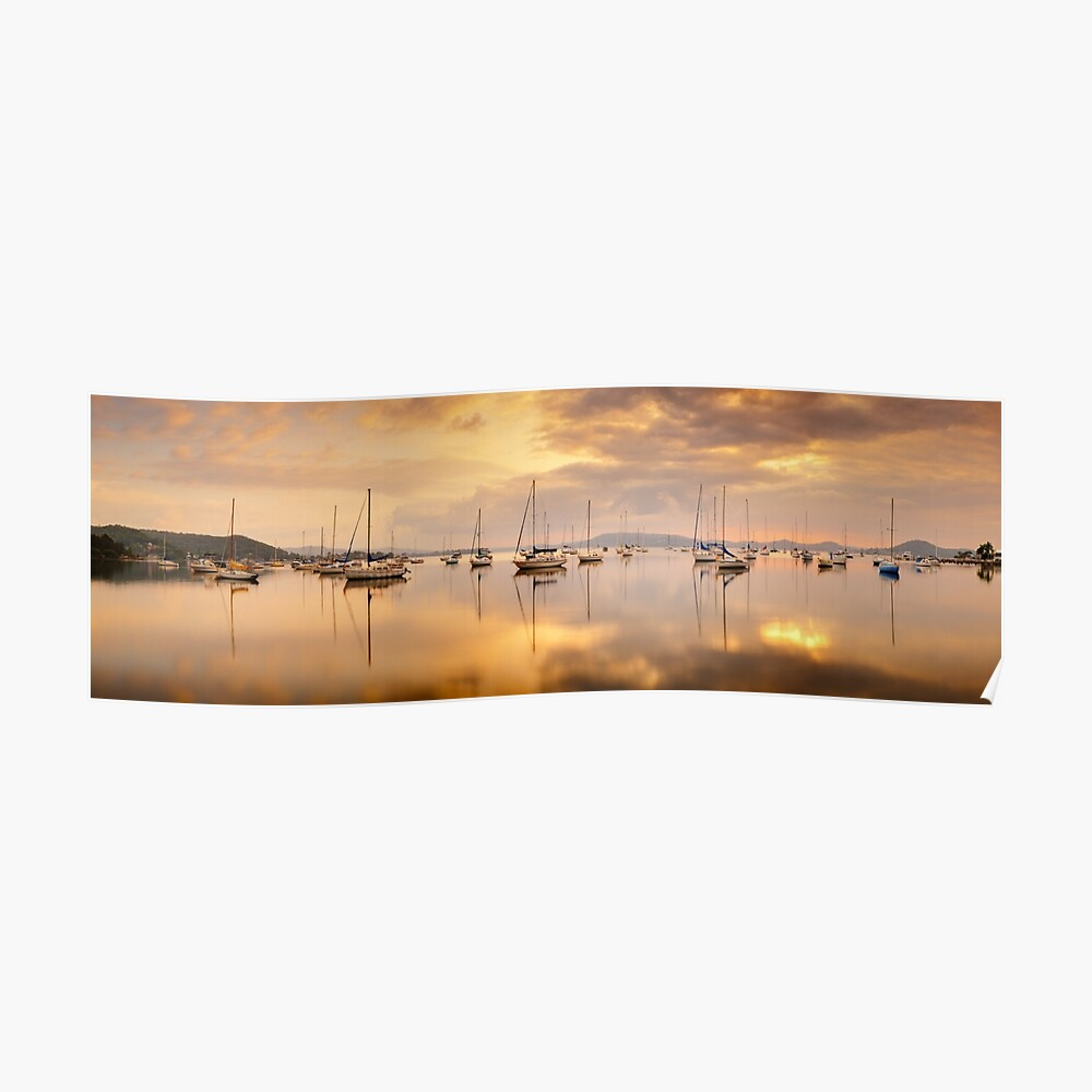 Koolewong Boats, New South Wales, Australia Poster
