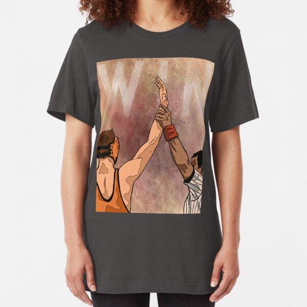 Wrestling Win Slim Fit T-Shirt