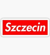 Szczecin (Nasza /Suprema/ Miasta!) Sticker