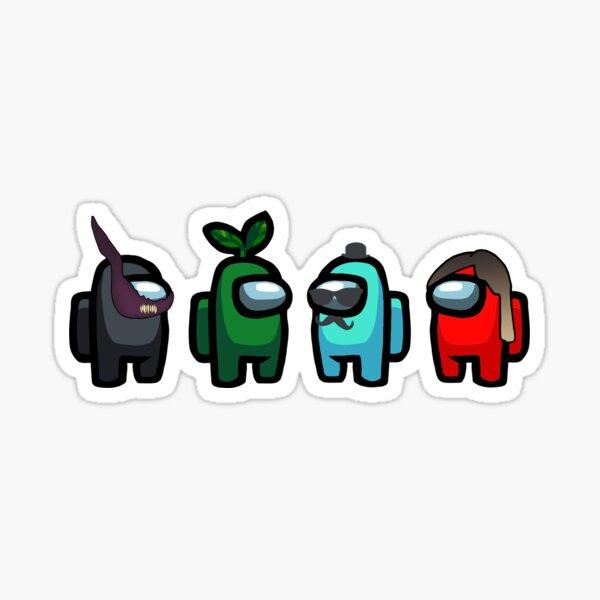 The 4 amigops Sticker