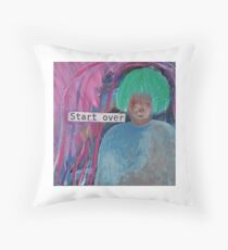 Start Over Throw Pillow