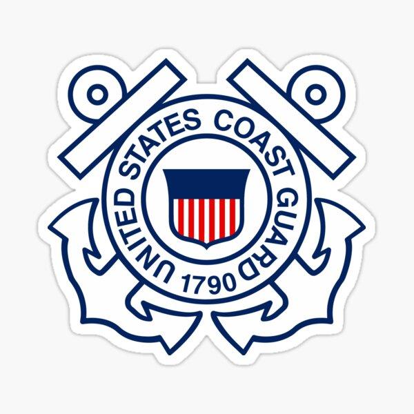 STICKER USCG COAST GUARD SEAL
