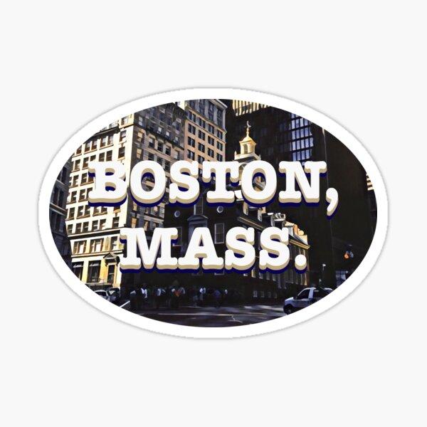 Old State House — Boston, Massachusetts Sticker