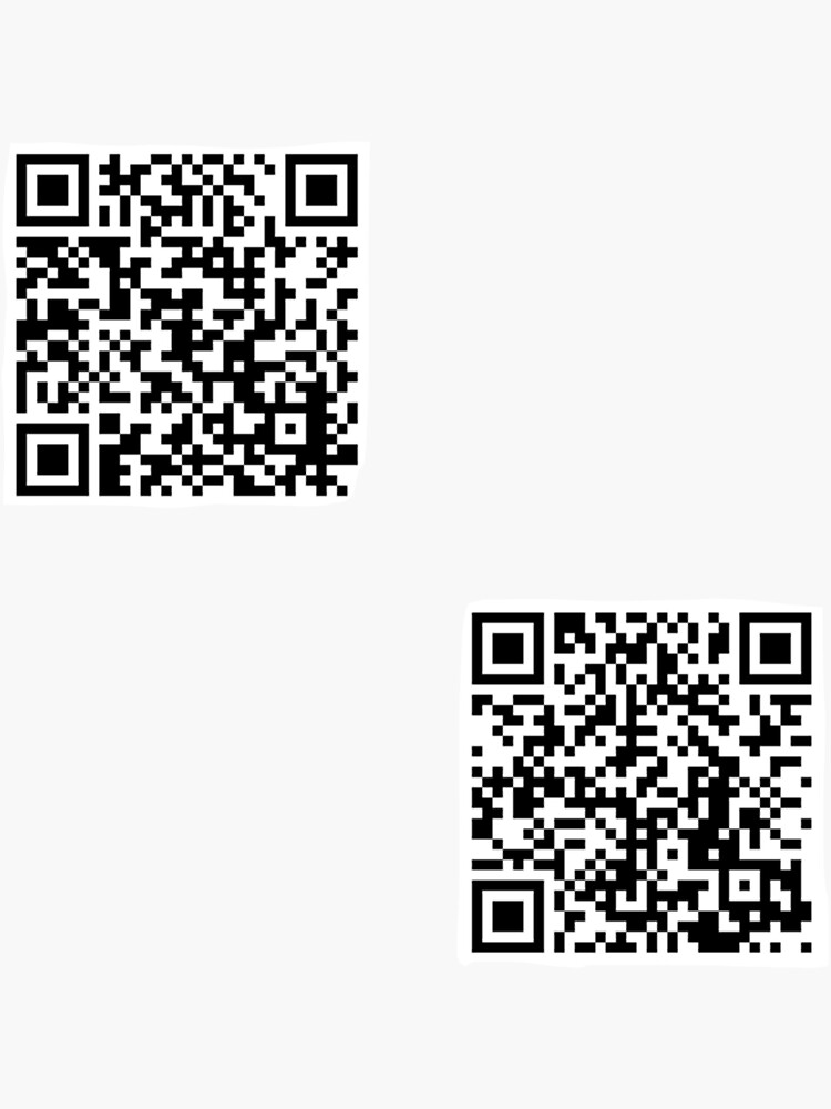 tommyinnit jump in the cadillac and wilbur soot your new boyfriend qr codes two pack by aestheticvibing