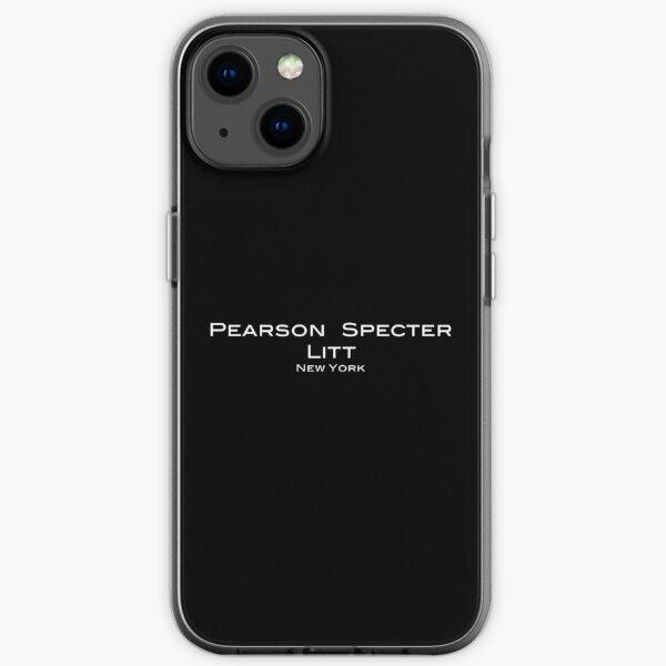 Suits Pearson Specter Litt Logo iPhone Soft Case