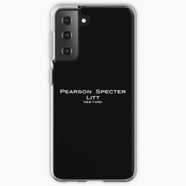Suits Pearson Specter Litt Logo Samsung Galaxy Soft Case