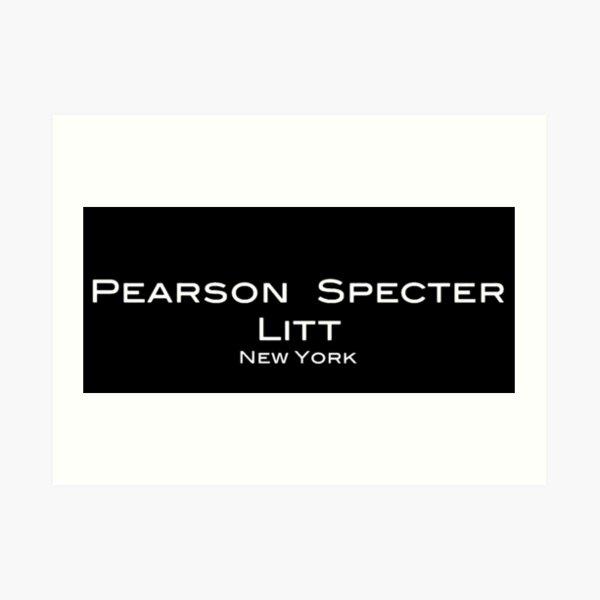 Costumes Pearson Spectre Litt Logo Impression artistique