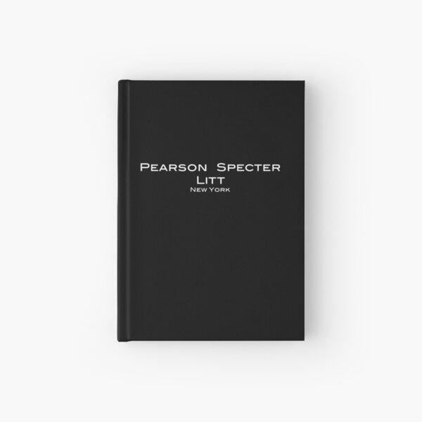 Suits Pearson Specter Litt Logo Hardcover Journal