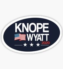 Knope 2020 Distressed Sticker