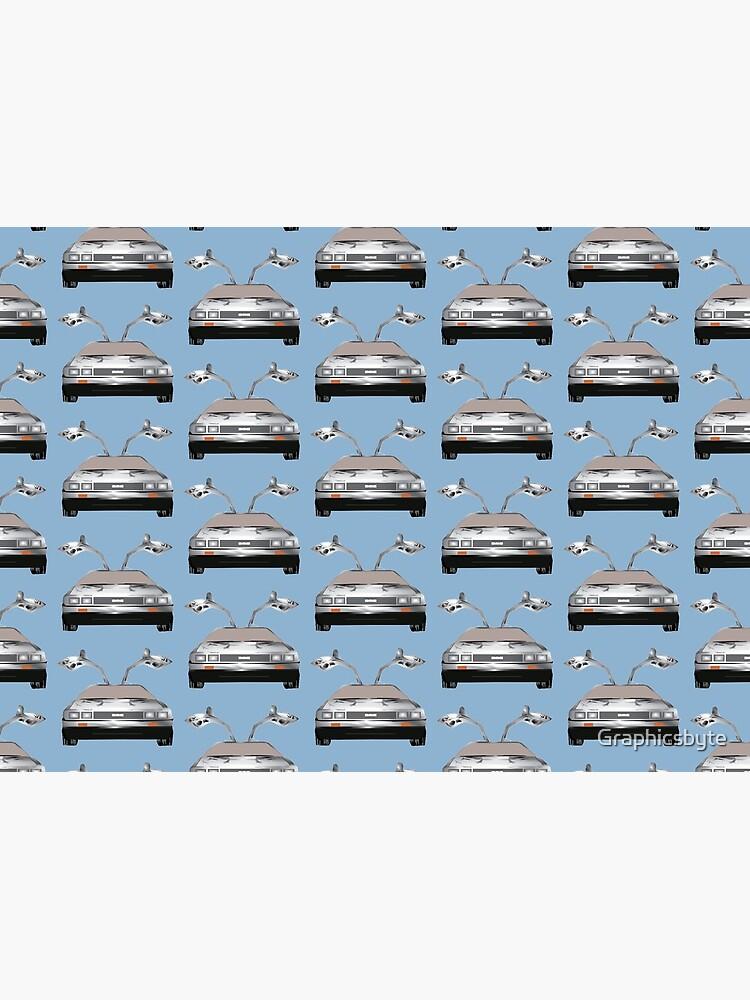 DMC DeLorean by Graphicsbyte