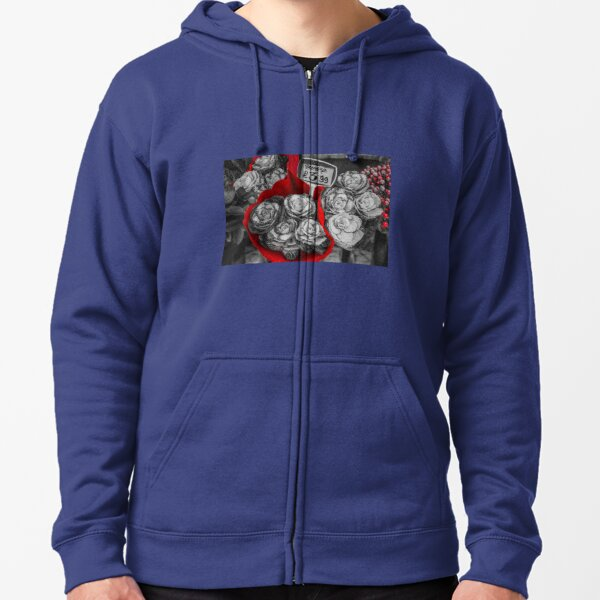 A Lovely Bunch of Cabbages   Zipped Hoodie