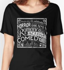 movies are like  Women's Relaxed Fit T-Shirt