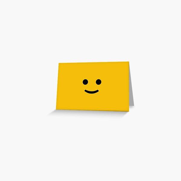 Lego man design  Greeting Card