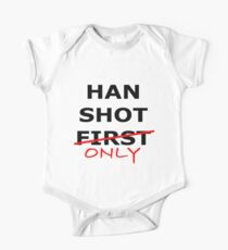 Han Shot Only One Piece - Short Sleeve