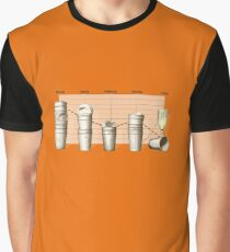 Office Stats Graphic T-Shirt