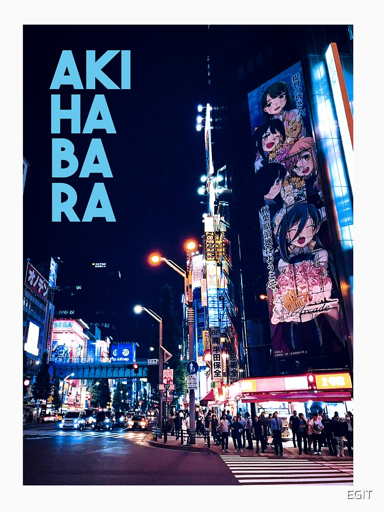 akihabara city by EGIT