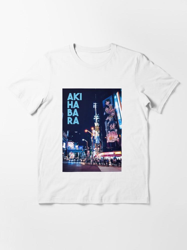 Alternate view of akihabara city Essential T-Shirt
