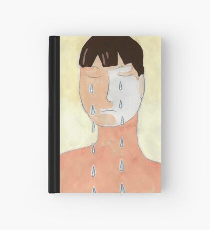 Crying Hardcover Journal