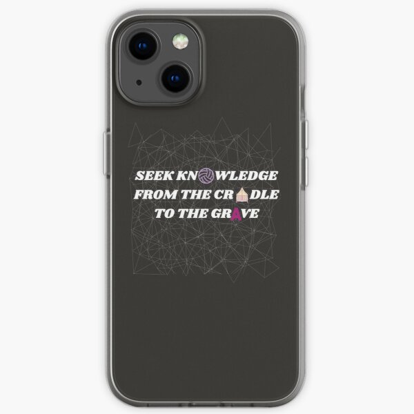 Knowledge iPhone Soft Case