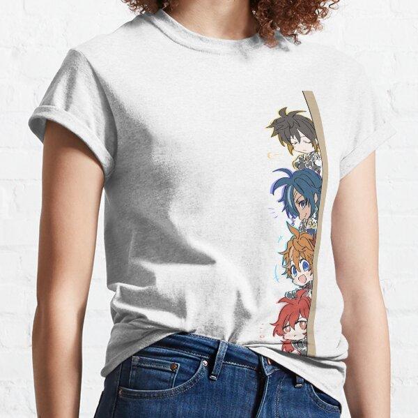 Genshin Impact Chibi Peeker Boy Band Classic T-Shirt