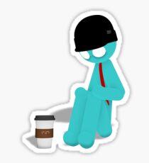 Miketastic's Coffee Addiction Sticker