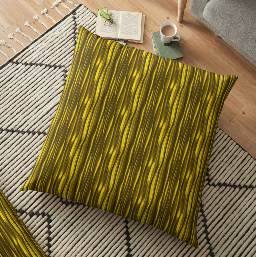 print floor pillows