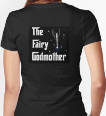 The Fairy Godmother Women's Fitted V-Neck T-Shirt