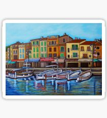 Colours of Cassis Sticker