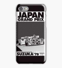 japan grand prix  iPhone Case/Skin