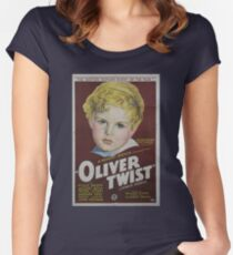classic movie : Oliver Twist Women's Fitted Scoop T-Shirt