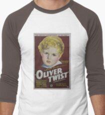 classic movie : Oliver Twist Men's Baseball ¾ T-Shirt