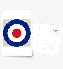 RAF Roundel Postcards