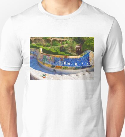 Gaudi's Park Guell - Impressions Of Barcelona T-Shirt