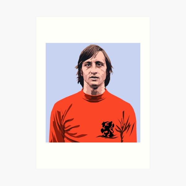 Cruyff - Holland soccer player Art Print
