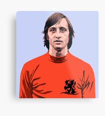 Cruyff - Holland soccer player Metal Print