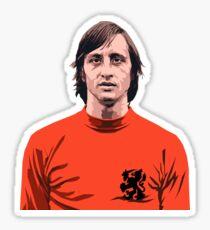 Cruyff - Holland soccer player Sticker